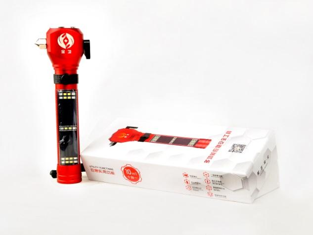 多功能应急安全工具(安全锤)